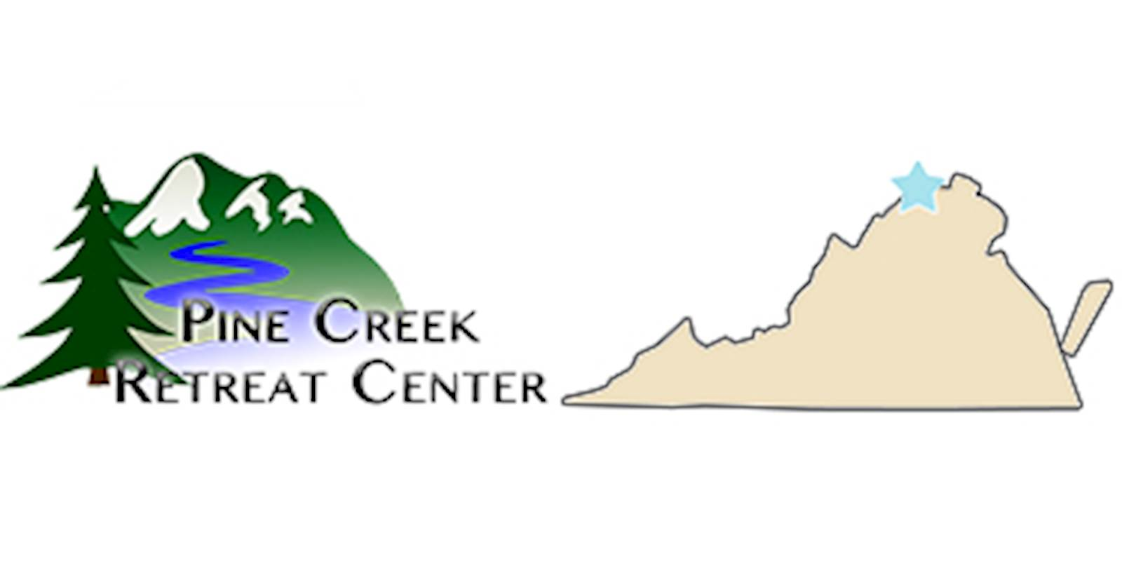 Pine Creek – Appalachian Mountain Retreat Center - logo and link